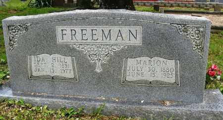 HILL FREEMAN, IDA - Conway County, Arkansas | IDA HILL FREEMAN - Arkansas Gravestone Photos