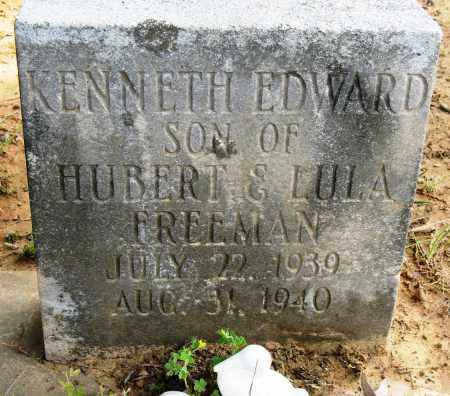 FREEMAN, KENNETH EDWARD - Conway County, Arkansas | KENNETH EDWARD FREEMAN - Arkansas Gravestone Photos