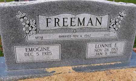FREEMAN, LONNIE E - Conway County, Arkansas | LONNIE E FREEMAN - Arkansas Gravestone Photos
