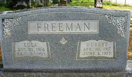 FREEMAN, HUBERT - Conway County, Arkansas | HUBERT FREEMAN - Arkansas Gravestone Photos