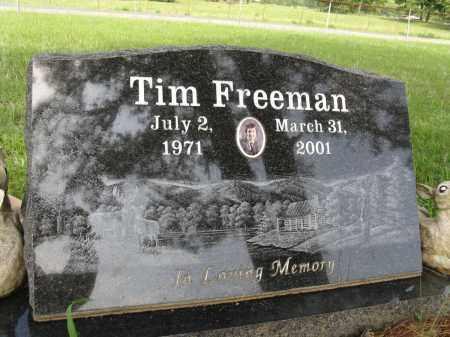 FREEMAN, TIM - Conway County, Arkansas | TIM FREEMAN - Arkansas Gravestone Photos