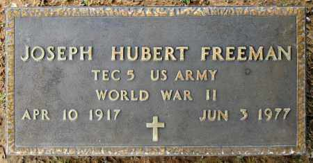 FREEMAN (VETERAN WWII), JOSEPH HUBERT - Conway County, Arkansas | JOSEPH HUBERT FREEMAN (VETERAN WWII) - Arkansas Gravestone Photos