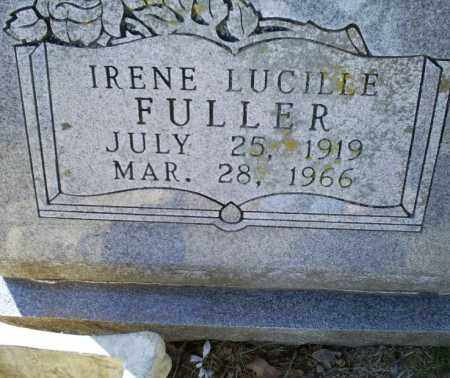 FULLER, IRENE LUCILLE - Conway County, Arkansas | IRENE LUCILLE FULLER - Arkansas Gravestone Photos