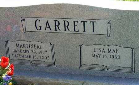 GARRETT, MARTINEAU - Conway County, Arkansas | MARTINEAU GARRETT - Arkansas Gravestone Photos