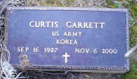 GARRETT (VETERAN KOR), CURTIS - Conway County, Arkansas | CURTIS GARRETT (VETERAN KOR) - Arkansas Gravestone Photos