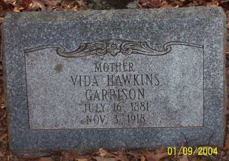 GARRISON, VIDA - Conway County, Arkansas | VIDA GARRISON - Arkansas Gravestone Photos