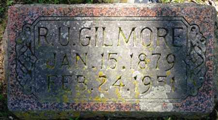 GILMORE, R U - Conway County, Arkansas | R U GILMORE - Arkansas Gravestone Photos