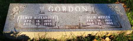 MEELER GORDON, OLLIE - Conway County, Arkansas | OLLIE MEELER GORDON - Arkansas Gravestone Photos
