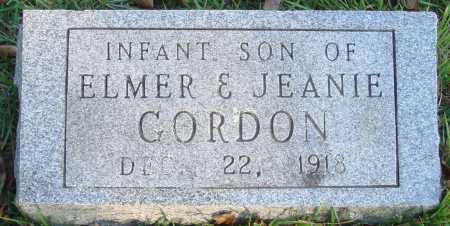 GORDON, INFANT SON - Conway County, Arkansas | INFANT SON GORDON - Arkansas Gravestone Photos