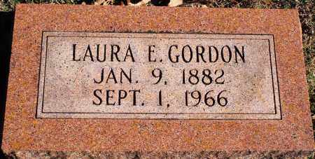 HILL GORDON, LAURA ELIZABETH - Conway County, Arkansas | LAURA ELIZABETH HILL GORDON - Arkansas Gravestone Photos