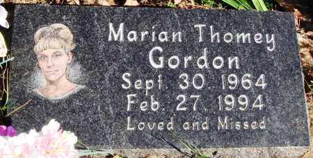 THOMEY GORDON, MARIAN - Conway County, Arkansas | MARIAN THOMEY GORDON - Arkansas Gravestone Photos