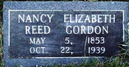 REED GORDON, NANCY ELIZABETH - Conway County, Arkansas | NANCY ELIZABETH REED GORDON - Arkansas Gravestone Photos