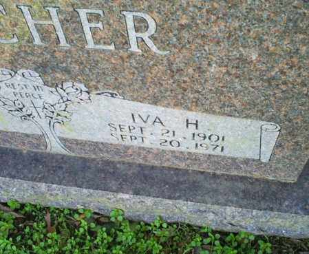 GOTCHER, IVA H. - Conway County, Arkansas | IVA H. GOTCHER - Arkansas Gravestone Photos