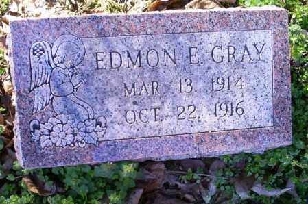 GRAY, EDMON E. - Conway County, Arkansas | EDMON E. GRAY - Arkansas Gravestone Photos