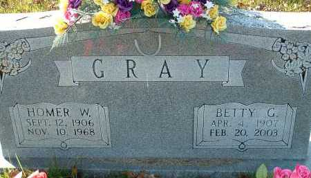 GRAY, BETTY G. - Conway County, Arkansas | BETTY G. GRAY - Arkansas Gravestone Photos
