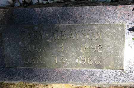 GRAYSON, CARY - Conway County, Arkansas | CARY GRAYSON - Arkansas Gravestone Photos