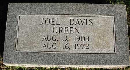 GREEN, JOEL DAVIS - Conway County, Arkansas | JOEL DAVIS GREEN - Arkansas Gravestone Photos