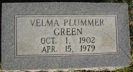 PLUMMER GREEN, VELMA - Conway County, Arkansas | VELMA PLUMMER GREEN - Arkansas Gravestone Photos