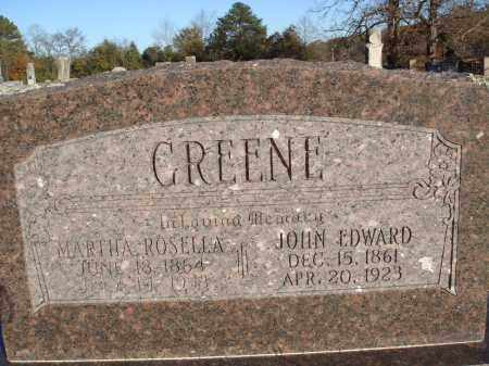 GREENE, MARTHA ROSELLA - Conway County, Arkansas | MARTHA ROSELLA GREENE - Arkansas Gravestone Photos