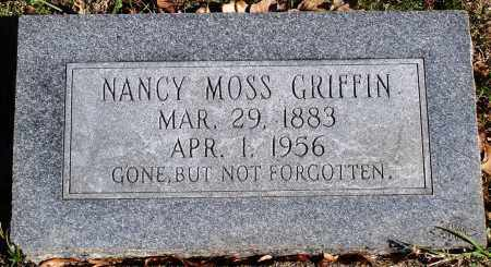 GRIFFIN, NANCY - Conway County, Arkansas | NANCY GRIFFIN - Arkansas Gravestone Photos