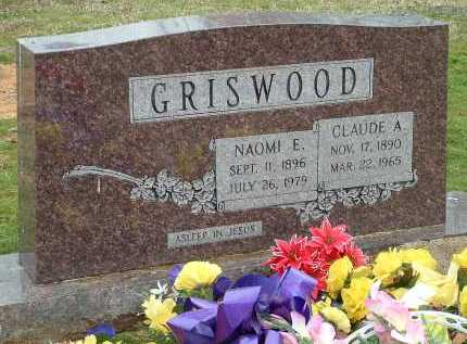GRISWOOD, CLAUDE ASBURY - Conway County, Arkansas | CLAUDE ASBURY GRISWOOD - Arkansas Gravestone Photos