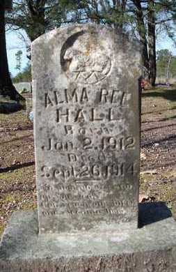 HALL, ALMA REE - Conway County, Arkansas | ALMA REE HALL - Arkansas Gravestone Photos