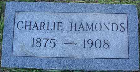 HAMONDS, CHARLIE - Conway County, Arkansas | CHARLIE HAMONDS - Arkansas Gravestone Photos