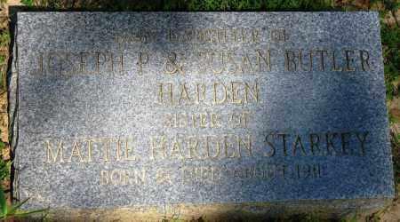 HARDEN, BABY - Conway County, Arkansas | BABY HARDEN - Arkansas Gravestone Photos