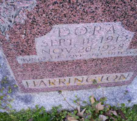 HARRINGTON, DORA - Conway County, Arkansas | DORA HARRINGTON - Arkansas Gravestone Photos