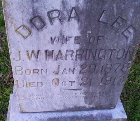 HARRINGTON, DORA LEE - Conway County, Arkansas | DORA LEE HARRINGTON - Arkansas Gravestone Photos