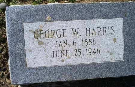 HARRIS, GEORGE W. - Conway County, Arkansas | GEORGE W. HARRIS - Arkansas Gravestone Photos