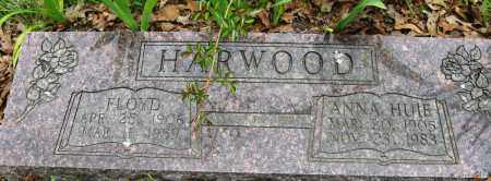 HUIE HARWOOD, ANNIE - Conway County, Arkansas | ANNIE HUIE HARWOOD - Arkansas Gravestone Photos
