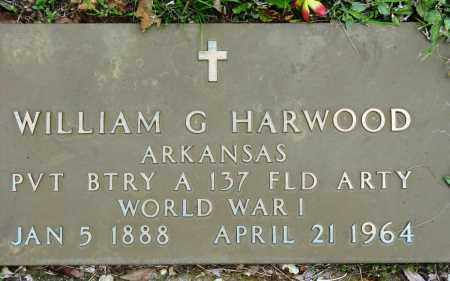 HARWOOD (VETERAN WWI), WILLIAM G - Conway County, Arkansas | WILLIAM G HARWOOD (VETERAN WWI) - Arkansas Gravestone Photos