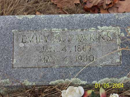 HAWKINS, EMILY ORANGE - Conway County, Arkansas | EMILY ORANGE HAWKINS - Arkansas Gravestone Photos