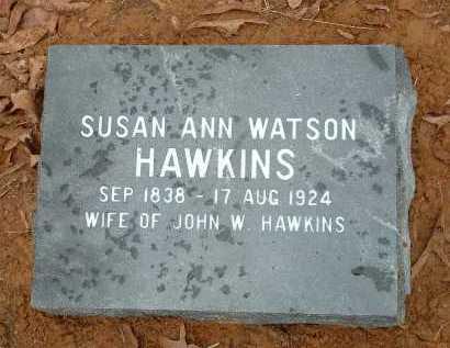 HAWKINS, SUSAN ANN - Conway County, Arkansas | SUSAN ANN HAWKINS - Arkansas Gravestone Photos