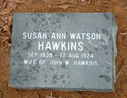 WATSON HAWKINS, SUSAN ANN - Conway County, Arkansas | SUSAN ANN WATSON HAWKINS - Arkansas Gravestone Photos
