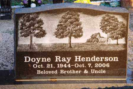 HENDERSON, DOYNE RAY - Conway County, Arkansas | DOYNE RAY HENDERSON - Arkansas Gravestone Photos
