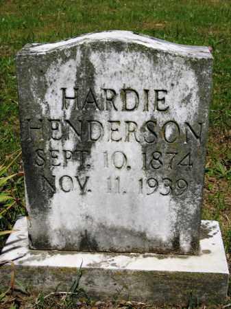 HENDERSON, HARDIE - Conway County, Arkansas | HARDIE HENDERSON - Arkansas Gravestone Photos