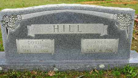 HILL, ANCE - Conway County, Arkansas | ANCE HILL - Arkansas Gravestone Photos