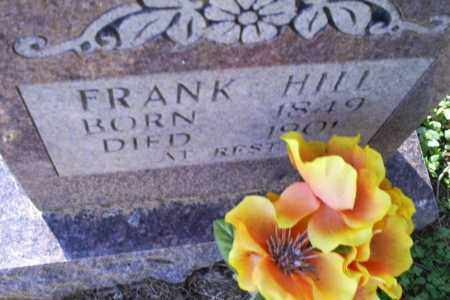HILL, FRANK - Conway County, Arkansas | FRANK HILL - Arkansas Gravestone Photos