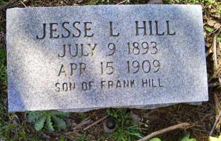 HILL, JESSE L. - Conway County, Arkansas | JESSE L. HILL - Arkansas Gravestone Photos