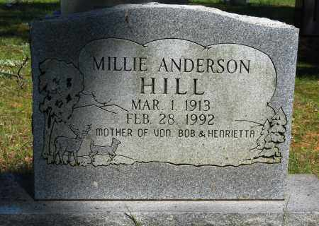 ANDERSON HILL, MILLIE - Conway County, Arkansas | MILLIE ANDERSON HILL - Arkansas Gravestone Photos