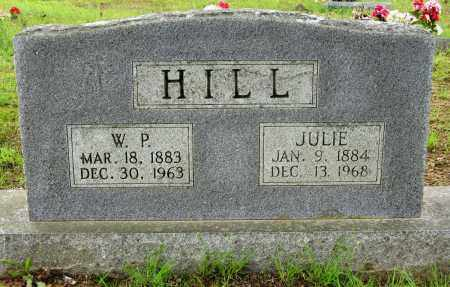 HILL, W P - Conway County, Arkansas | W P HILL - Arkansas Gravestone Photos