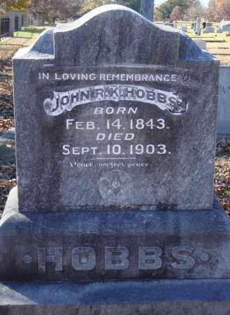 HOBBS, JOHN R. K. - Conway County, Arkansas | JOHN R. K. HOBBS - Arkansas Gravestone Photos