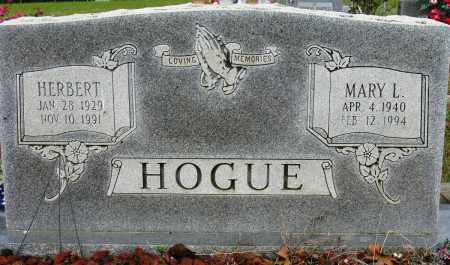 HOGUE, HERBERT - Conway County, Arkansas | HERBERT HOGUE - Arkansas Gravestone Photos