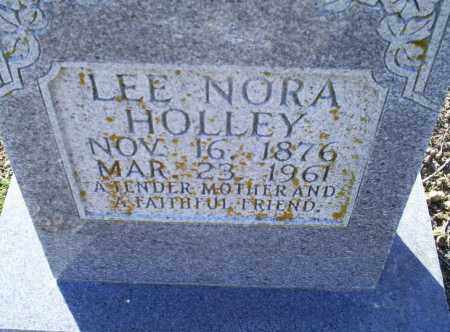 HOLLEY, LEE NORA - Conway County, Arkansas | LEE NORA HOLLEY - Arkansas Gravestone Photos
