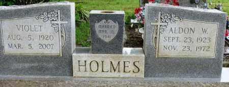 HOLMES, ALDON W - Conway County, Arkansas | ALDON W HOLMES - Arkansas Gravestone Photos