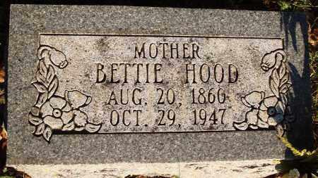 HOOD, BETTIE - Conway County, Arkansas | BETTIE HOOD - Arkansas Gravestone Photos