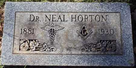 HORTON, DR., NEAL - Conway County, Arkansas | NEAL HORTON, DR. - Arkansas Gravestone Photos