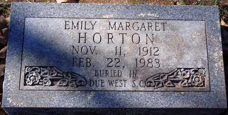 HORTON, EMILY MARGARET - Conway County, Arkansas | EMILY MARGARET HORTON - Arkansas Gravestone Photos